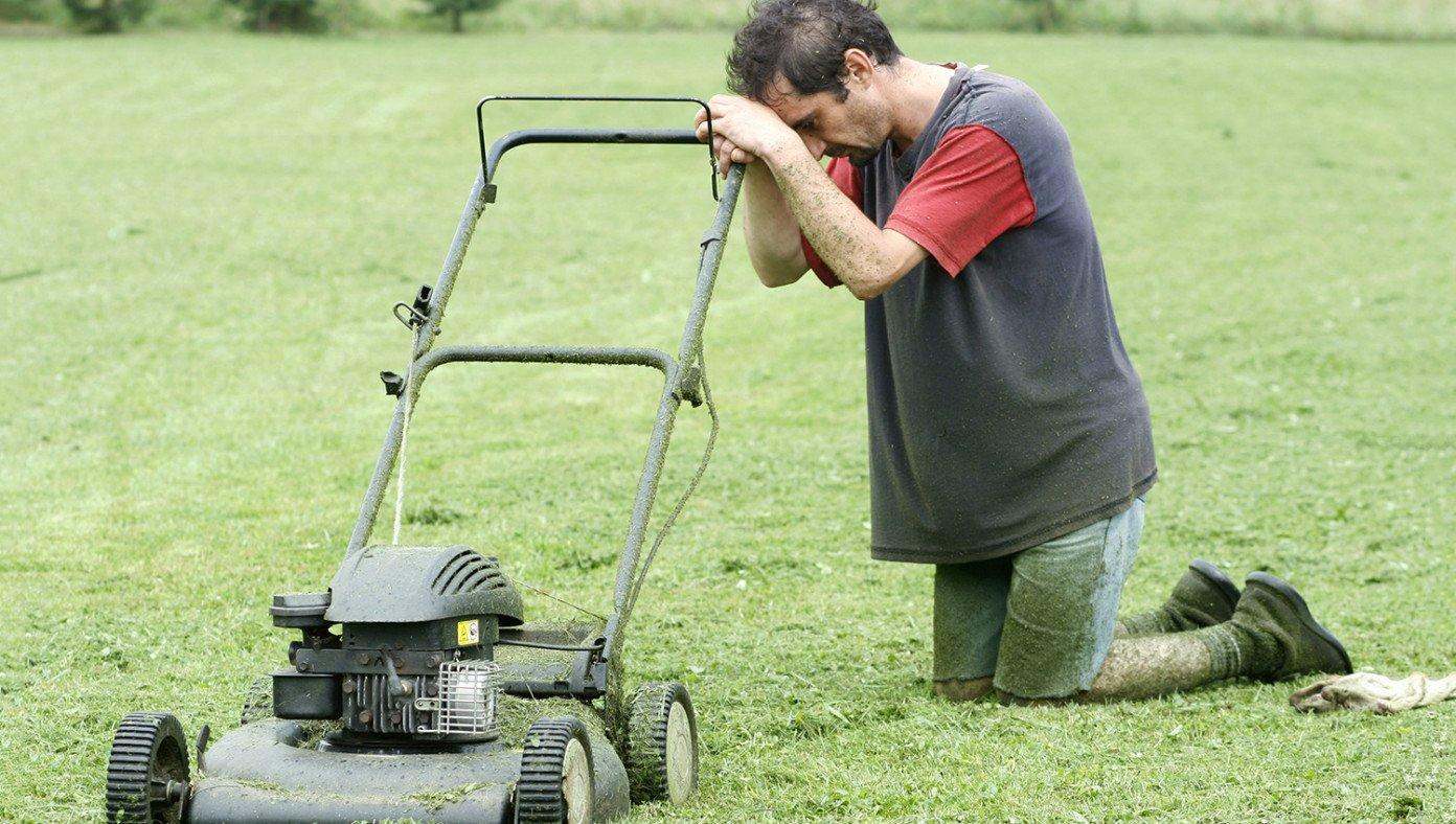 Sprinkler Master Frustrated Lawn care